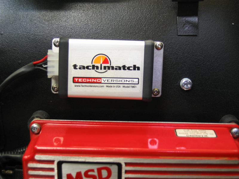 TachMatch Mounted on Firewall